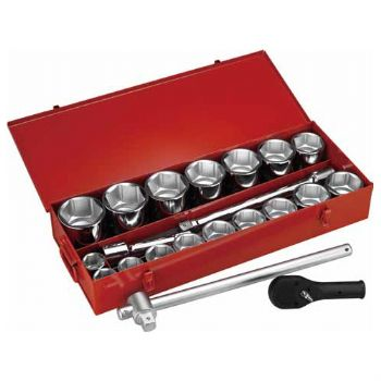 "22 PC. —1"" DR.HAND SOCKET SET"