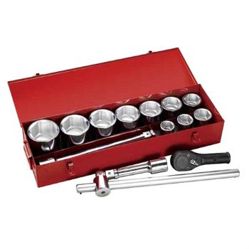 "15PC. —1""DR.HAND SOCKET SET"
