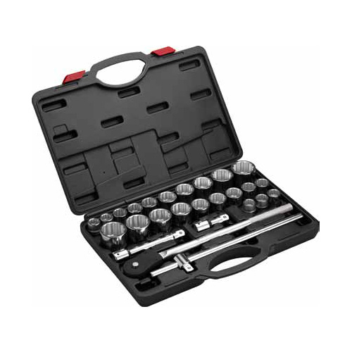 27 Piece Wrench Socket Set