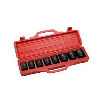 "9PC. 3/4""DR. Drive Large Size Impact Socket Set"