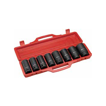 "9PC. 3/4""DR. Drive Large Size Deep Impact Socket Set"