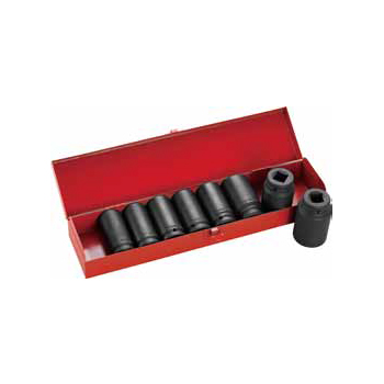 9pc Impact Socket Set