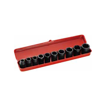 11pc Metric Impact Socket Set