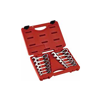 12pcs Stubby Reversible Gear Wrench Set