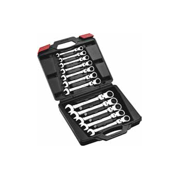 Mirror Polished Gear Wrench Set