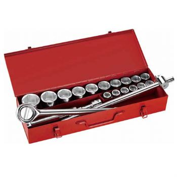 "21PC.—3/4""DR. HAND SOCKET WRENCH SET"