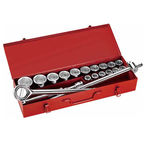 "21PC.—3/4""DR. BIG SOCKET SETS"